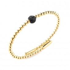 Bracciale Sfera Gold Black Nero