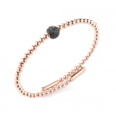 Bracciale Sfera Rose Black