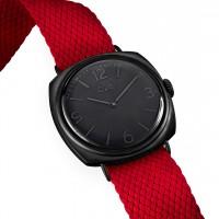 C28 Black cinturino rosso