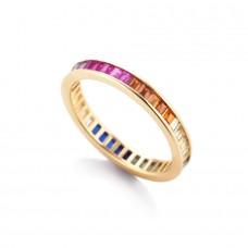 Anello Rainbow Gold