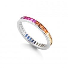 Anello Rainbow Silver