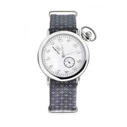 Silver 38 con cinturino sartoriale Nardi