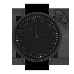 Black Slim - Orologio con cinturino intercambiabile