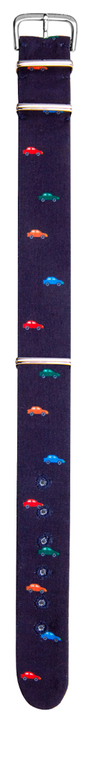 Cinturino sartoriale in cotone Lauda