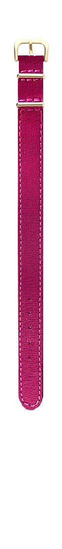 Saffiano Magenta Gold (16 mm)